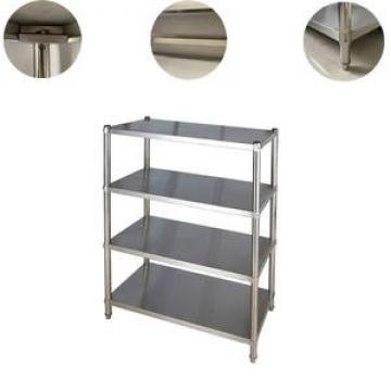 NSF Commercial 6 Tiers Heavy Duty Steel Rack Lee Rowan Wire Shelving