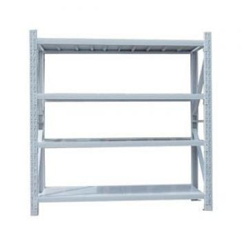 Heavy Duty Selective Stacking Galvanized Warehouse Storage Mezzanine Cantilever Teardrop Shelf Metal Steel Shuttle Rack