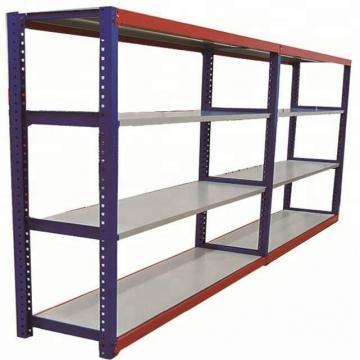 Office / Library File Storage Push Rolling Metal Cart Basket Rack for Book and Magazine