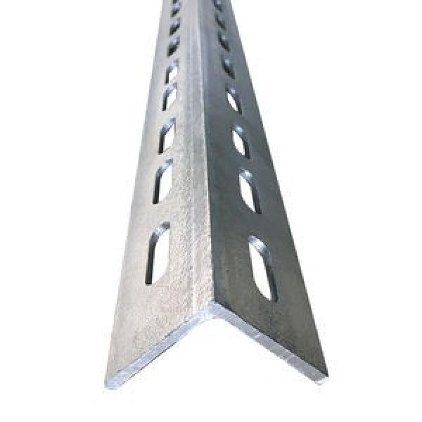 Hot Dipped Galvanized Processing Punched and Drilled Angle Steel Iron