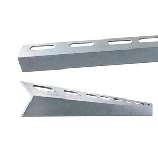 Galvanized Perforated BS En S355jr S355j0 ASTM A572 Gr50 Gr60 A36 Slotted Angle Iron