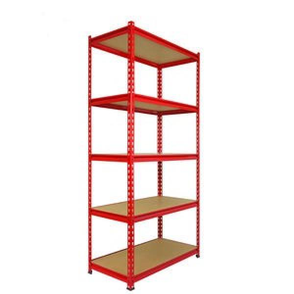 Industrial 4 Tiers Large Green Epoxy Big Storage Rack Steel Wire Shelf with Wheels